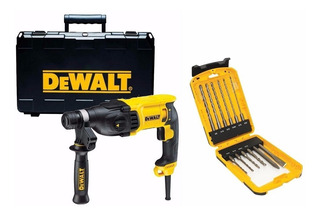 Martillo Rotopercutor Dewalt 2.9j 800w + Set Mechas Sds