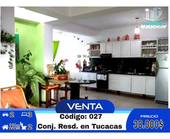 Apartamento Vacacional En Venta En Tucacas Morrocoy