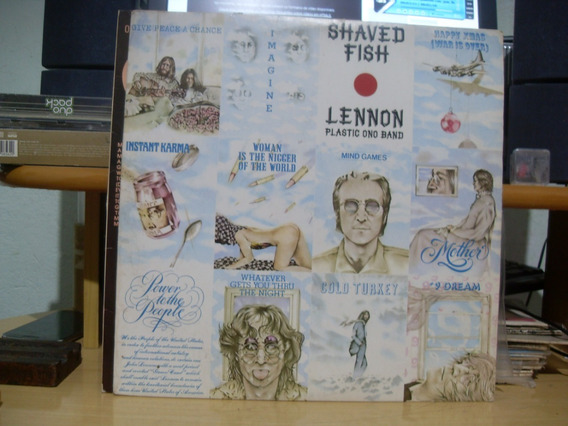 Lp Lennon The Plastic Ono Band - Shaved Fish