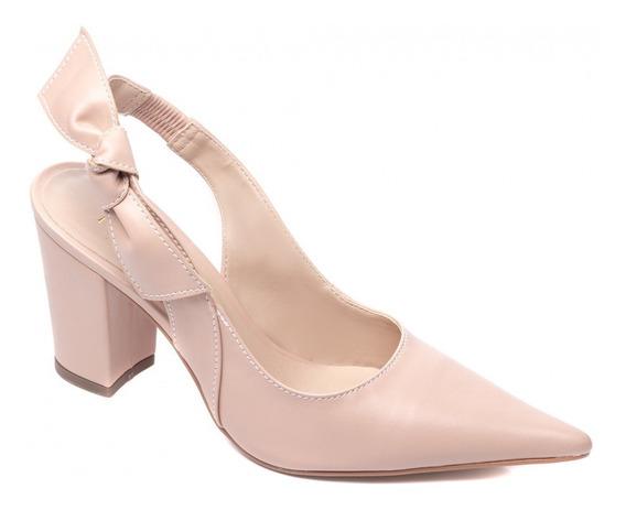 Sapato Feminino Scarpin Salto Grosso Alto Médio Torricella