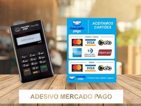 Maquininha Point H - 2 Adesivos Mercado Pago