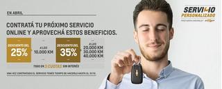 Servicio Programado 40 K Oficial Chevrolet Spin/cobalt 1.8