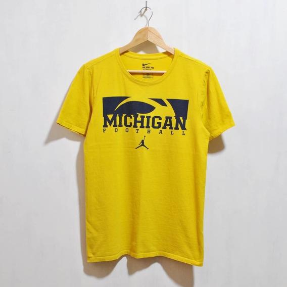 Remera Nike Jordan Michigan Wolverines Talle S