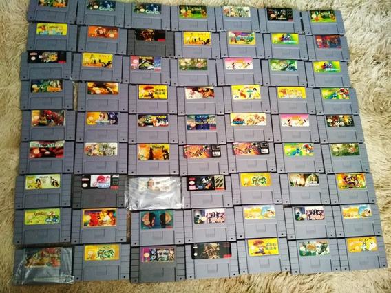 Jogos De Super Nintendo A Partir De 30 Reais