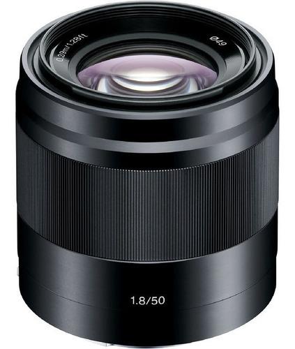 Lente Aps-c Sony Mirrorless E 50mm F/1.8 Oss Garantia Nfe