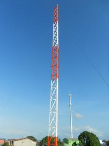 Torre Galvanizada 10 Metros Para Sobrados Dois Pavimentos