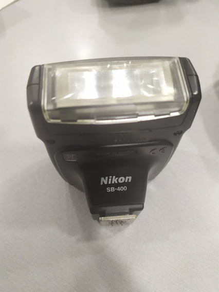 Flash Sb-400 Marca Nikon