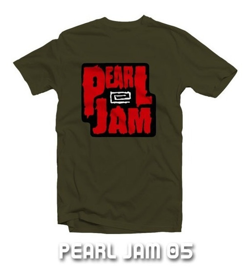 Playeras Pearl Jam - 15 Modelos Disponibles!