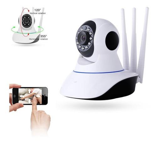 Camara Ip Wifi Hd Motorizada Vision Nocturna 360°