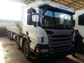 Scania P 310 8x2 Bitruck Carroceria 9m