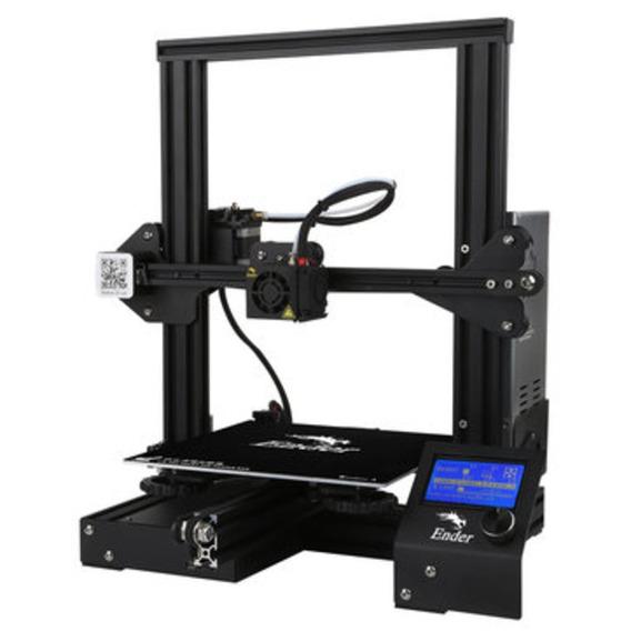 Impressora 3d Ender 3 +3kg Filamento Pla+nf+treinam.