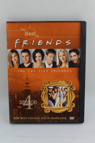 Dvd 177 Friends -- The Top Five Episodes Season 4