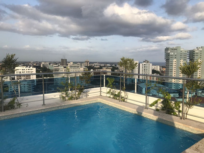 Se Alquila,apartamento 2hab Nuevos C/gym Y Rooftop Social!