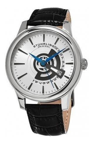 Reloj Cuarzo Correa Cuero Hombre Shympony 787.01 Stührling