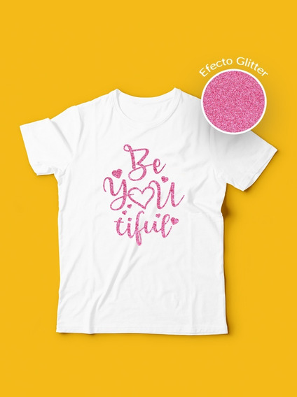 Hermosa Playera Para Niña Beyoutiful Glitter