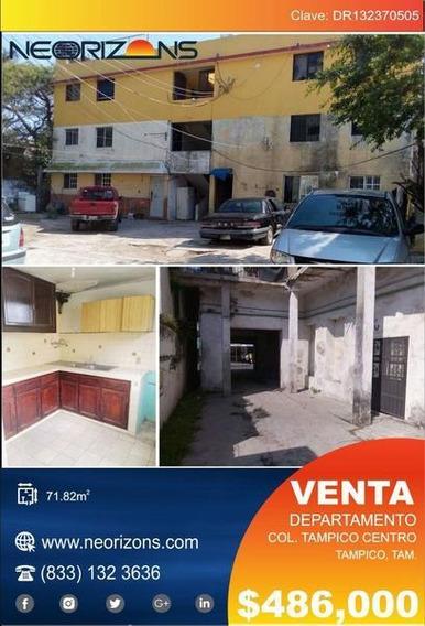 Departamento En Venta Zona Centro Tampico, Tam. **oferta Única**