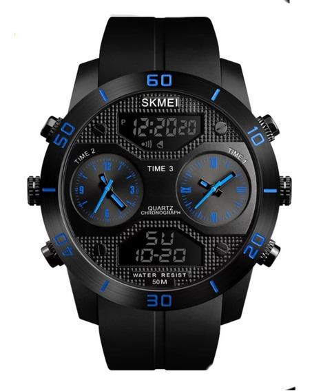 Relógio Masculino Skmei 1355 Lançamento Caixa Grande