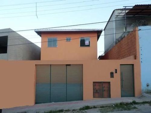 Imagem 1 de 17 de Casa À Venda, 3 Quartos, 1 Suíte, 1 Vaga, Jardim Dos Comerciários (venda Nova) - Belo Horizonte/mg - 552
