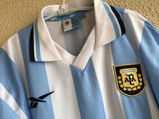 Argentina Home 1999 - Reebok Modelo De Jogo