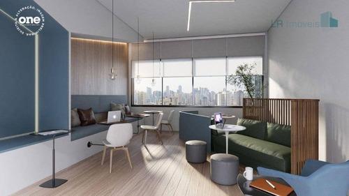 Studio À Venda, 30 M² Por R$ 350.000,00 - Indianópolis - São Paulo/sp - St0840