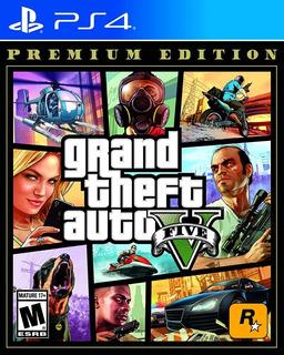Juego Gta5 Premium Edition Ps4 Nuevo Sellado#35