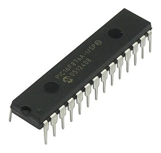 Microcontrolador Pic16f876a Pic 16f876a Microchip 28 Pines