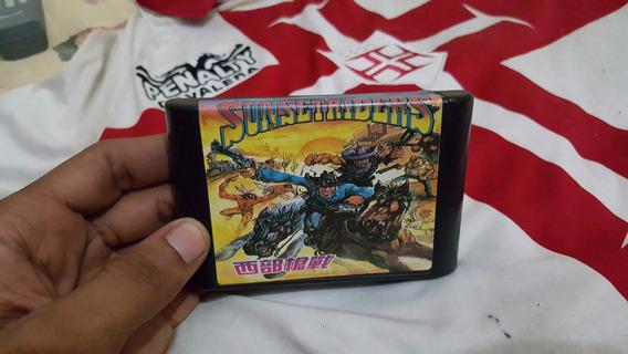 Sunset Riders Para O Mega Drive