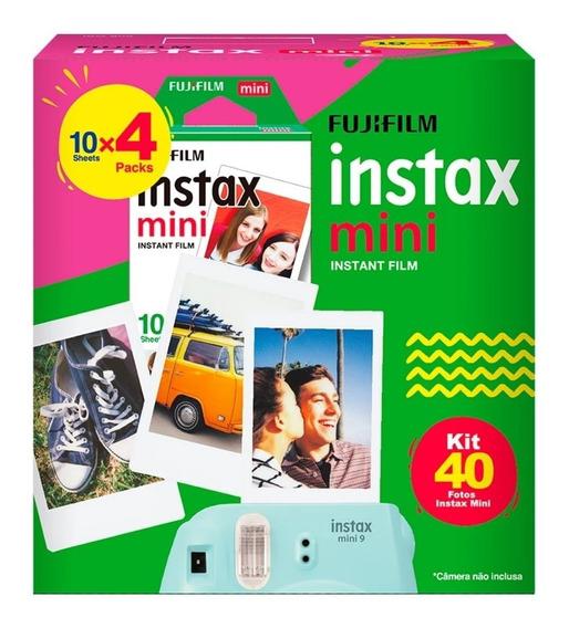 Papel Filme Para Instax Mini 7, 8 E 9 - 40 Fotos 5,4 X 8,6