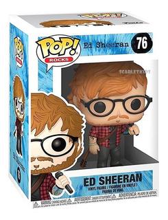 Funko Pop Ed Sheeran 76 Original Pop Rocks Scarlet Kids