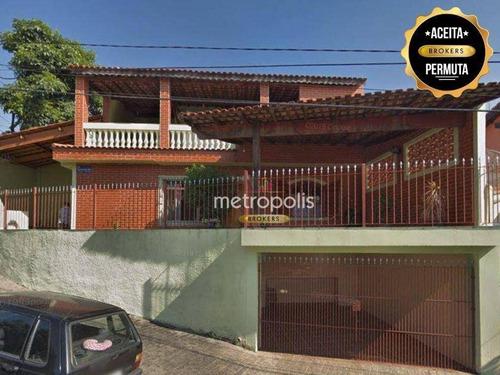 Casa À Venda, 180 M² Por R$ 700.000,00 - Olímpico - São Caetano Do Sul/sp - Ca0927