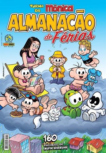 Imagem 1 de 2 de Almanacão Férias Turma Da Mônica - 160 Páginas  Panini
