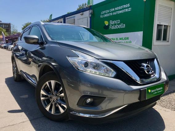 Nissan Murano Advance 4x4 3.5 Aut 2017
