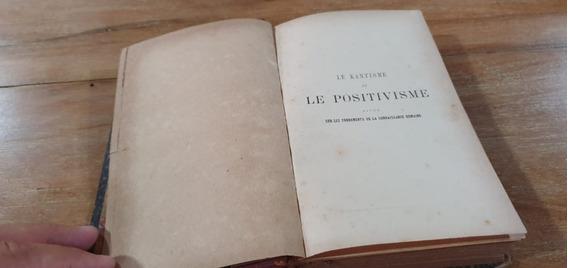 Livro Le Positivisme 1887