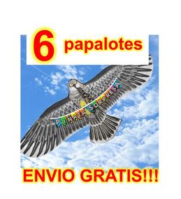 3970fdae7e4 6 Papalote Aguila Cometa Economico Juguete Mayoreo Fiesta