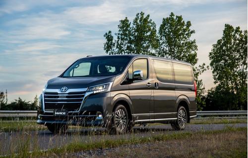 Toyota Hiace Wagon 2021 Gris Oscura Precio En Dolar Oficial