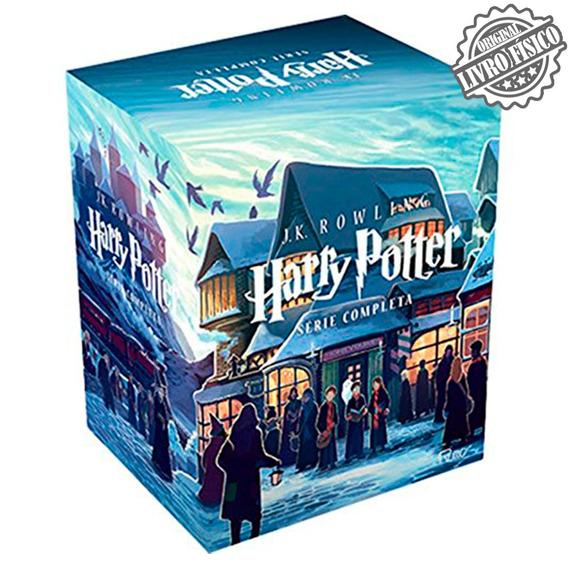 Box Harry Potter Completo - 7 Livros - Frete Grátis