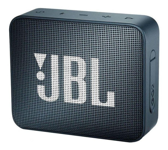 Caixa de som JBL GO 2 portátil Slate navy