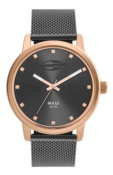 Relógio Mormaii Feminino Maui Mo2035jq/5j Rose Analogico