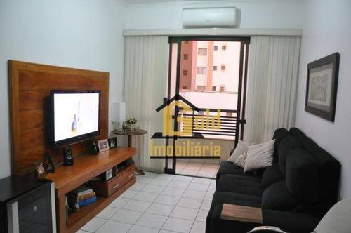 Apartamento Com 2 Dormitórios À Venda, 62 M² Por R$ 275.000 - Jardim Botânico - Ribeirão Preto/sp - Ap2186