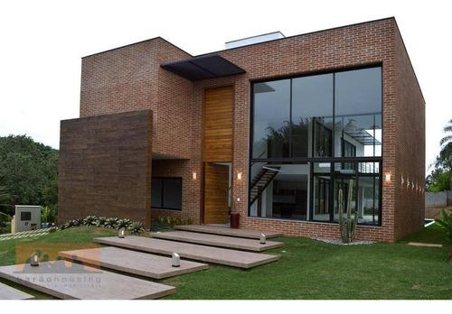 Imagem 1 de 30 de Casa À Venda, 485 M² Por R$ 2.650.000,00 - Condomínio Quinta Dos Jatobás - Campinas/sp - Ca2165
