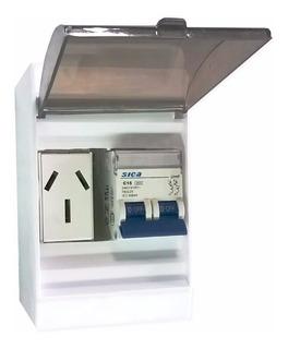 Kit Caja Térmica Sica 10 A 32 Toma 20a Aire Acondicionado