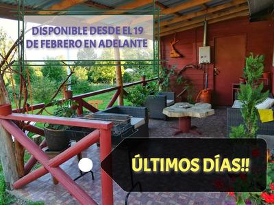 Arriendo Cabaña, Comuna De Futrono