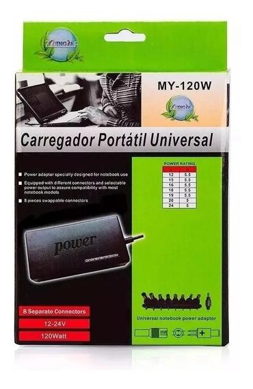 Fonte Carregador Notebook Com Adaptador Universal Power