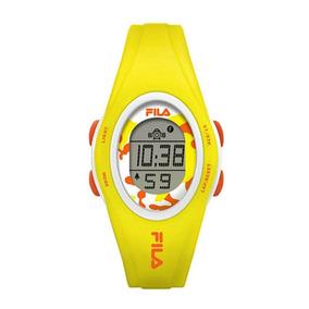 Relógio Feminino Fila Digital Amarelo