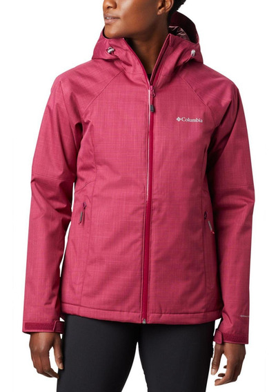 Casaca Top Pine Insulated Rain Jacket Burdeo Columbia