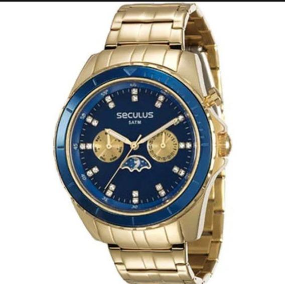 Relógio Seculus Feminino 28709lpsvda1