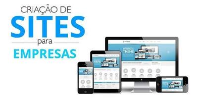 Criação De Site E Lojas Virtual Com Hospedagem