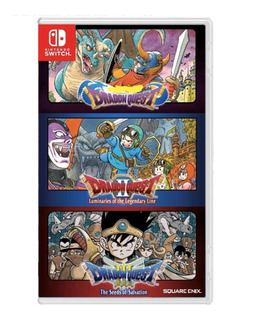 Dragon Quest Collection (1, 2, 3) Nintendo Switch