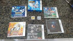 Jogos Originais (pokémon, Pes, Etc) 3ds A Partir De R$ 25,00