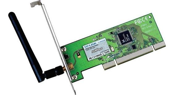 Tarjeta De Red Internet Wifi Pci Tp-link 54 Mbps Tl-wn353gd